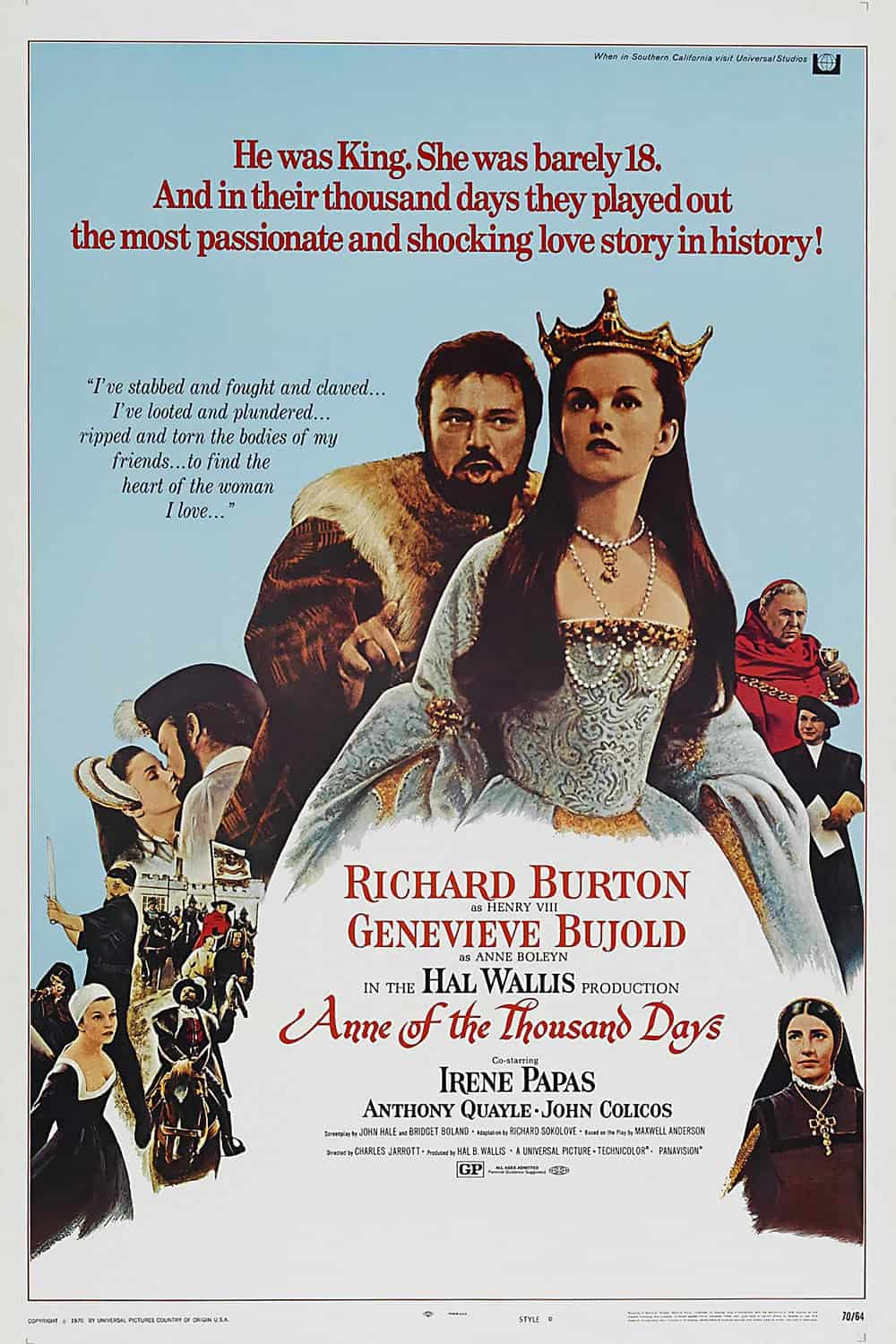Anne Of The Thousand Days, 1969
