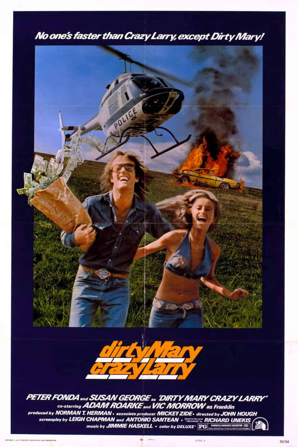 Dirty Mary, Crazy Larry, 1974