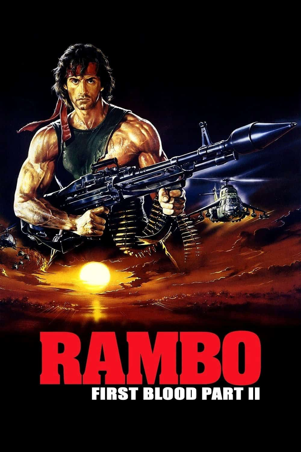Rambo: First Blood Part II, 1985