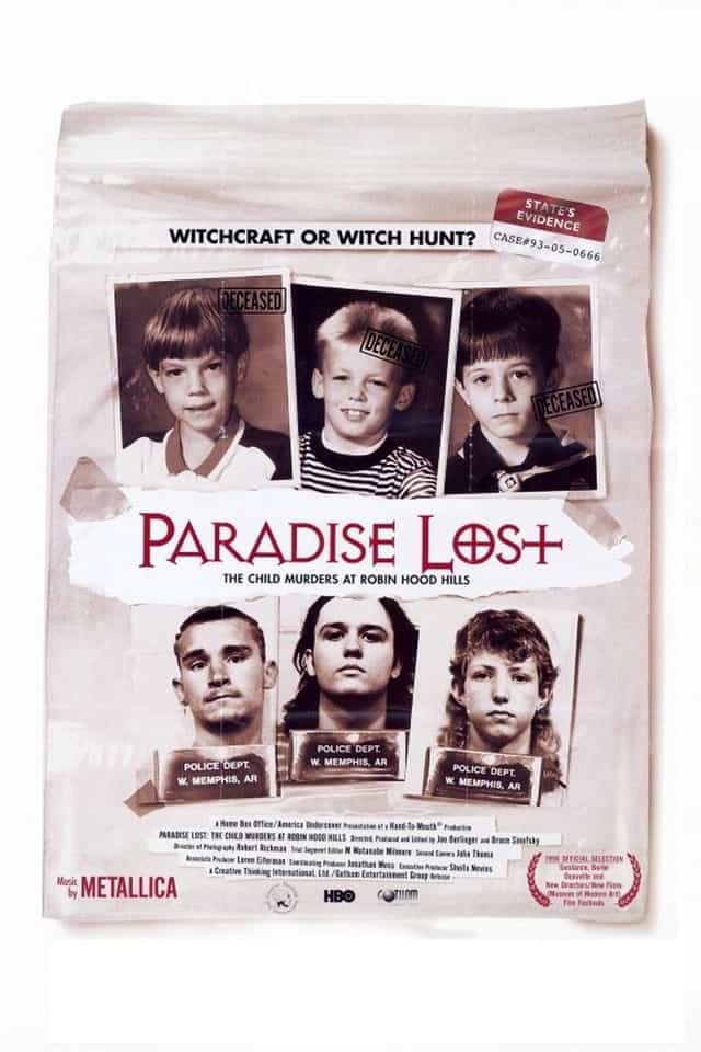 Paradise Lost: The Child Murders at Robin Hood Hills,1996