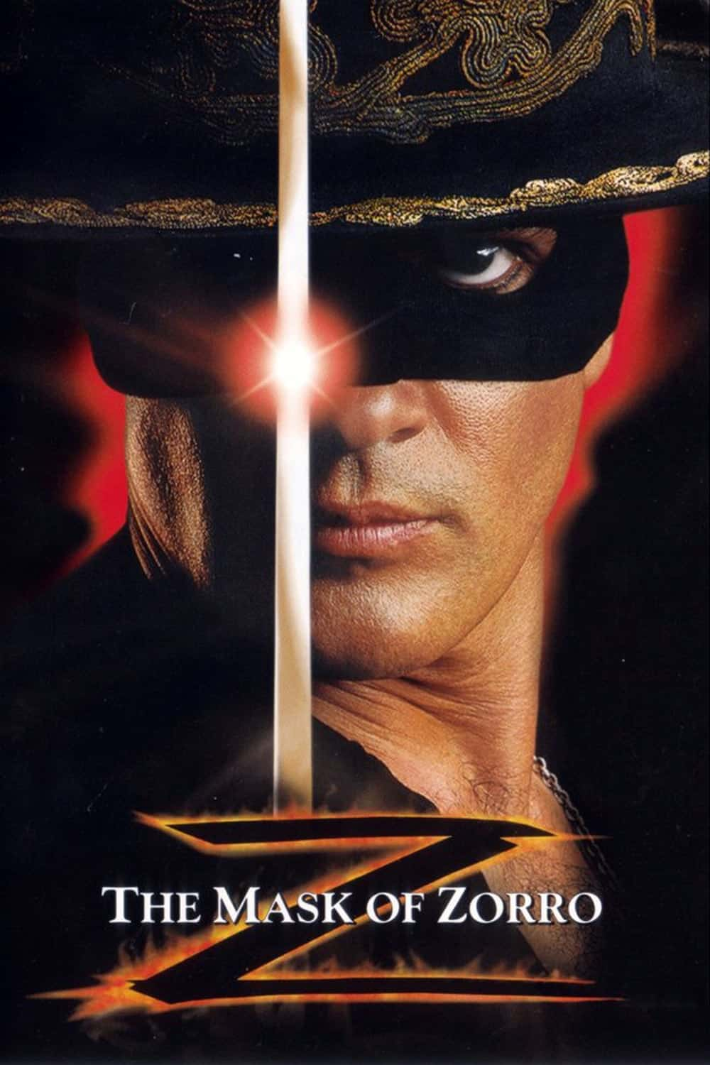 The Mask of Zorro, 1998