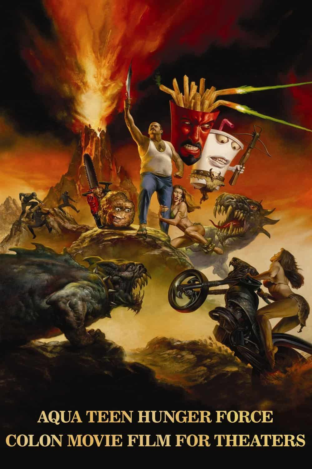 Aqua Teen Hunger Force Colon Movie Film for Theaters, 2007