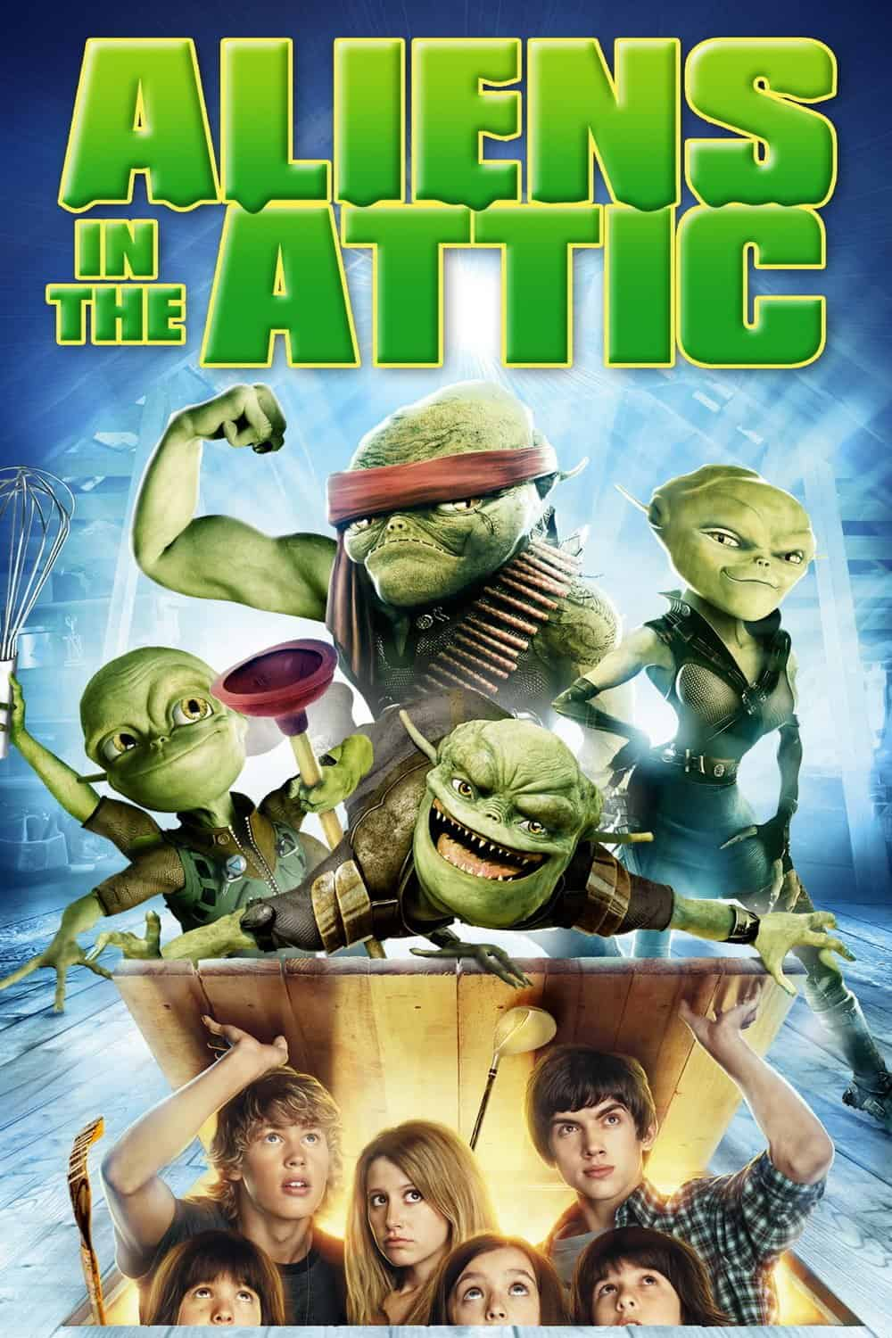 Aliens in the Attic, 2009