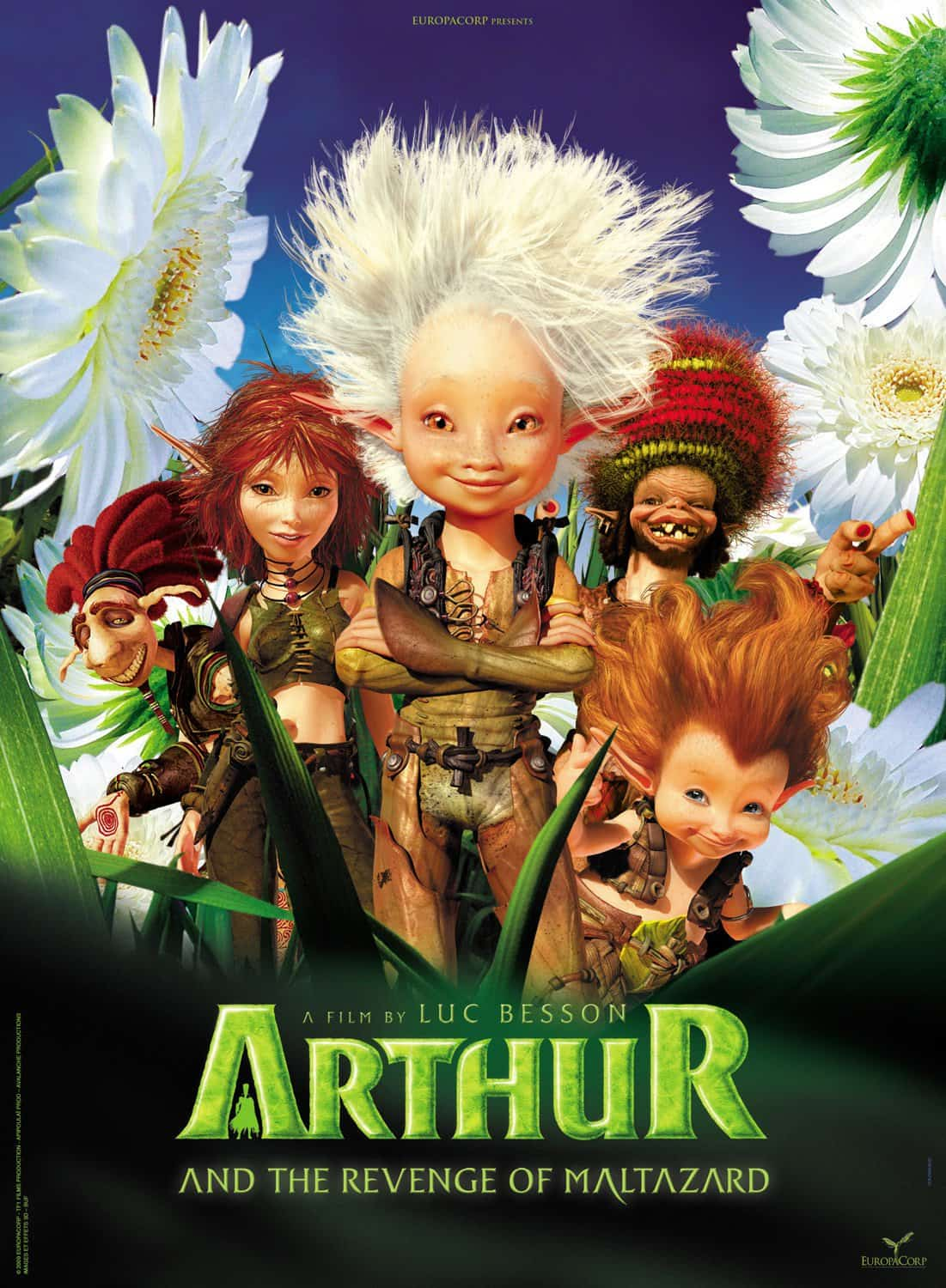 Arthur and the Revenge of Maltazard, 2009