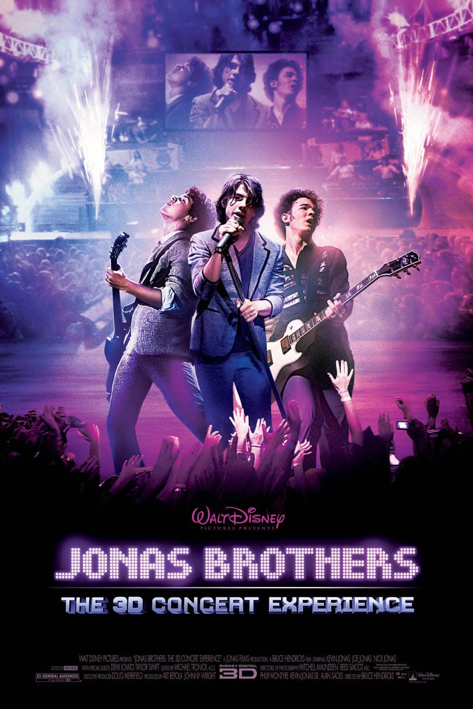 Jonas Brothers: The 3D Concert Experience, 2009