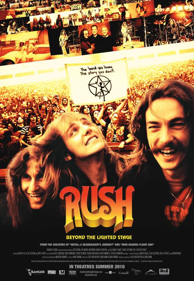 Rush: Beyond the Lighted Stage,2010