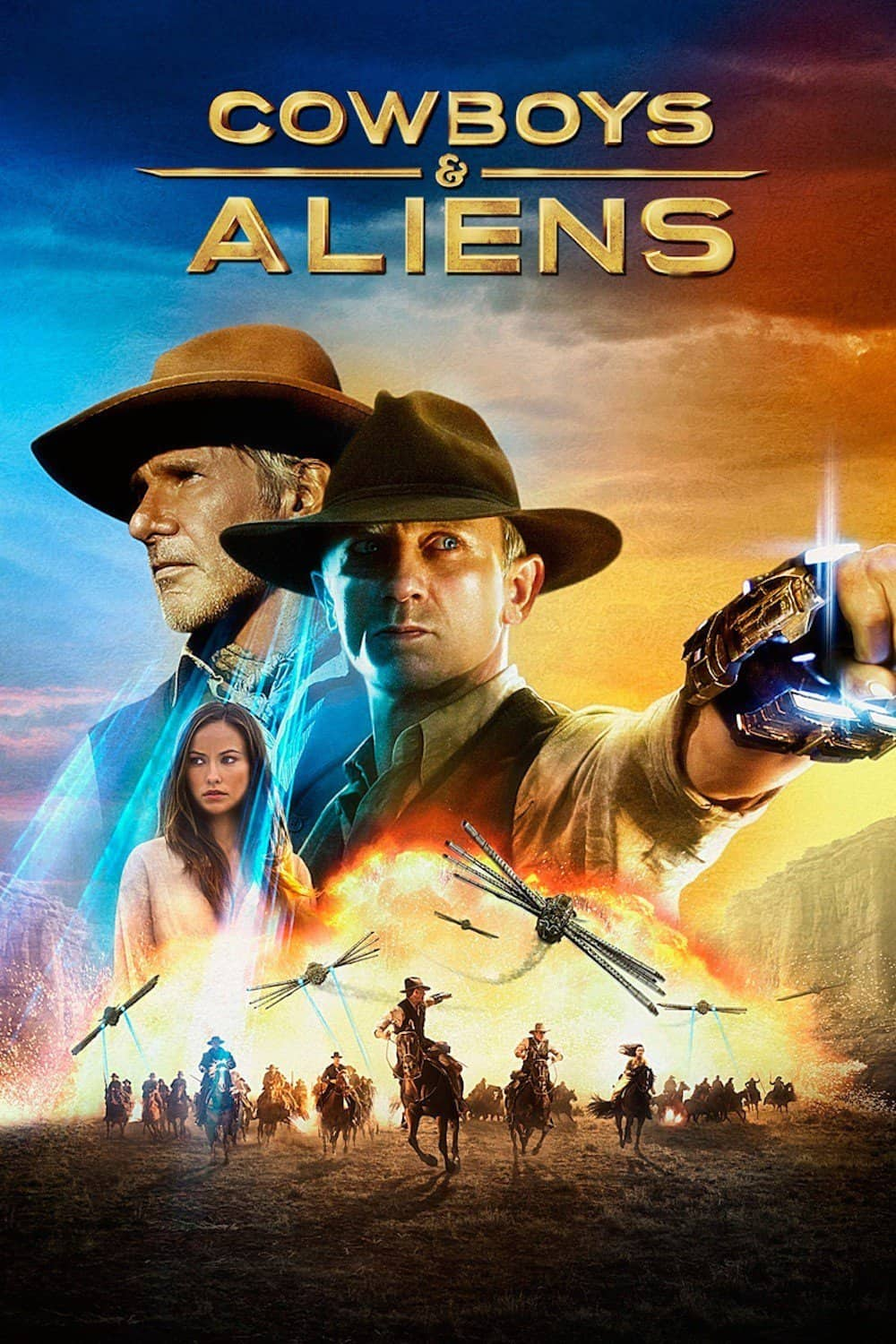 Cowboys and Aliens, 2011