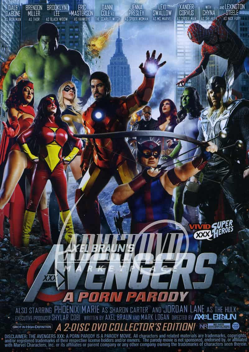 Avengers XXX: A Porn Parody, 2012