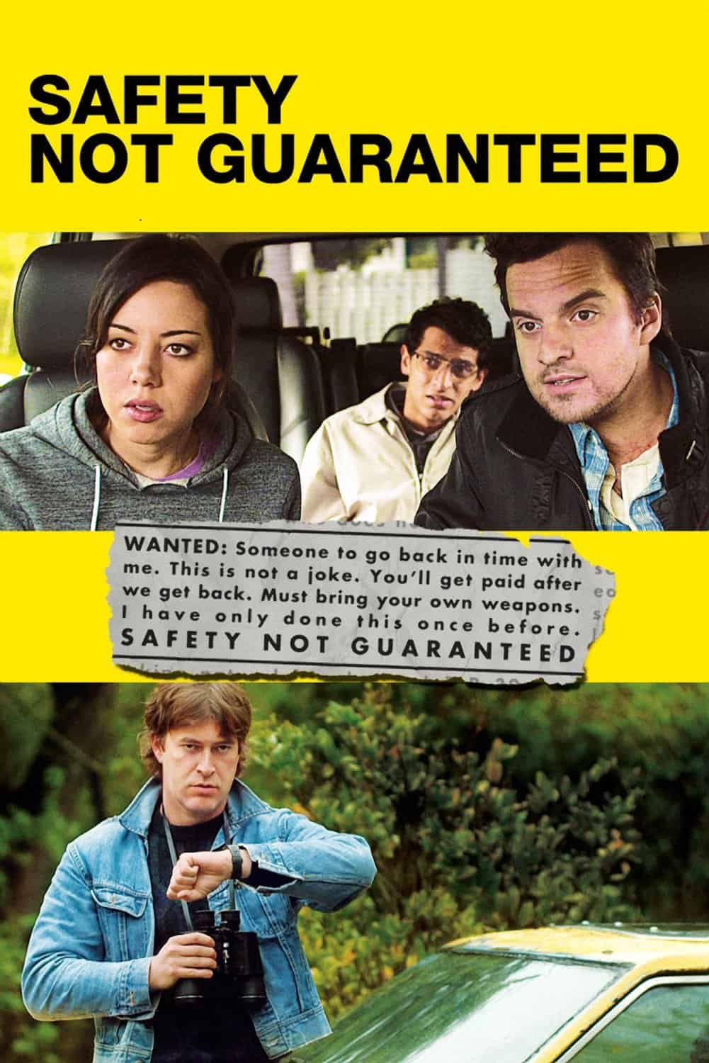 Safety Not Guaranteed, 2012
