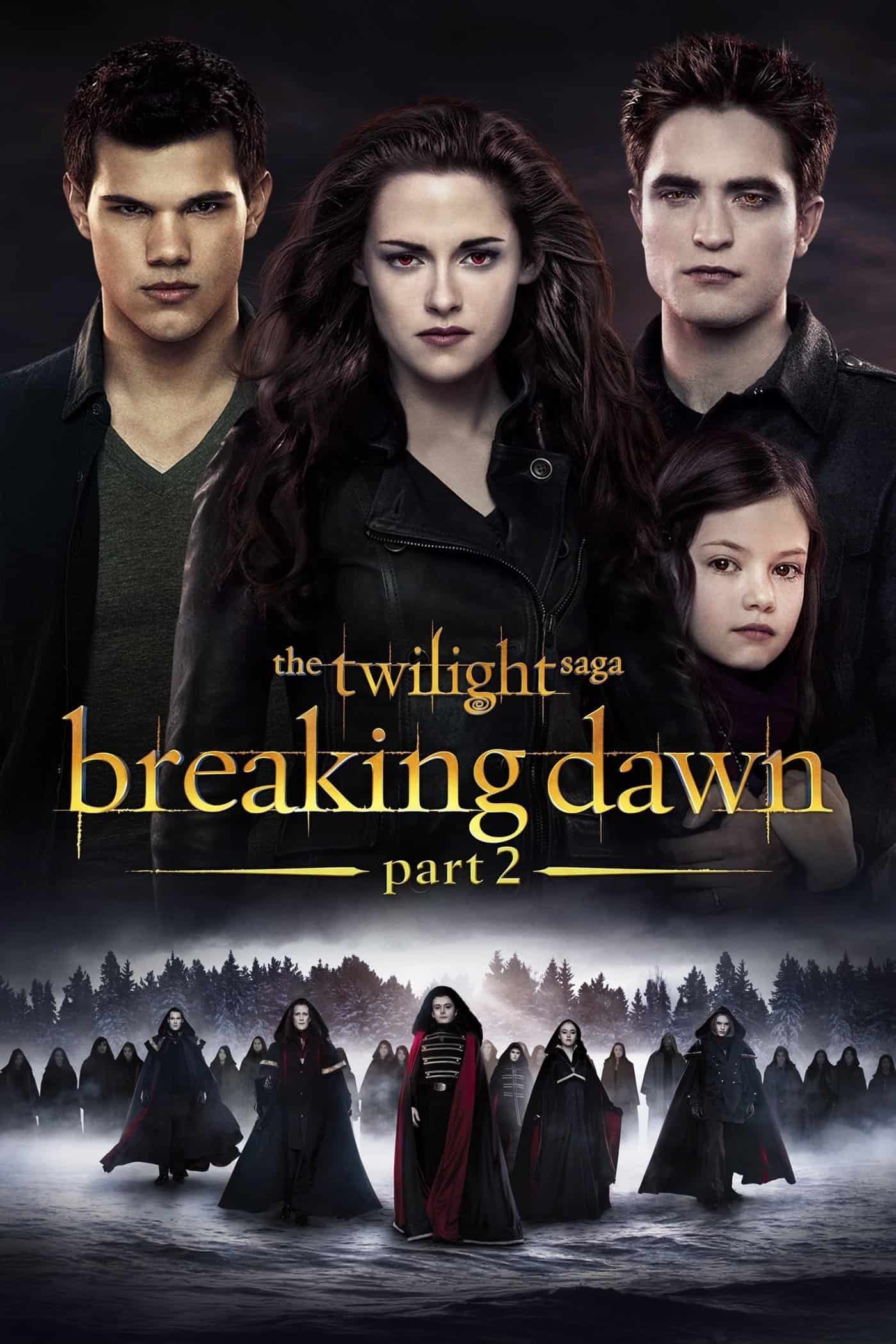 The Twilight Saga: Breaking Dawn – Part 2, 2012