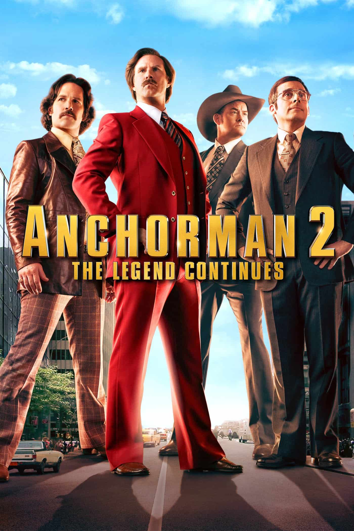 Anchorman 2: The Legend Continues, 2013
