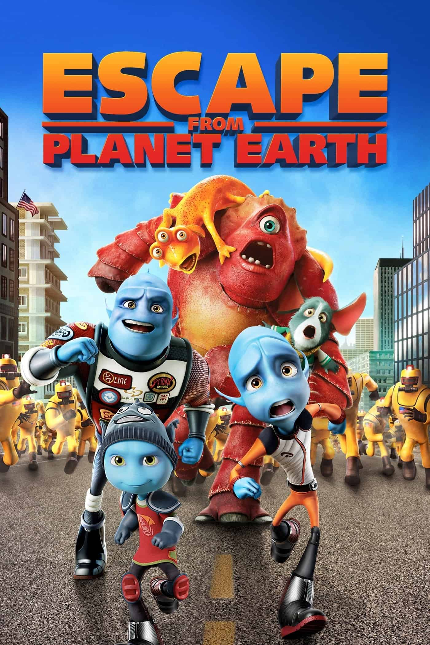 Escape from Planet Earth, 2013