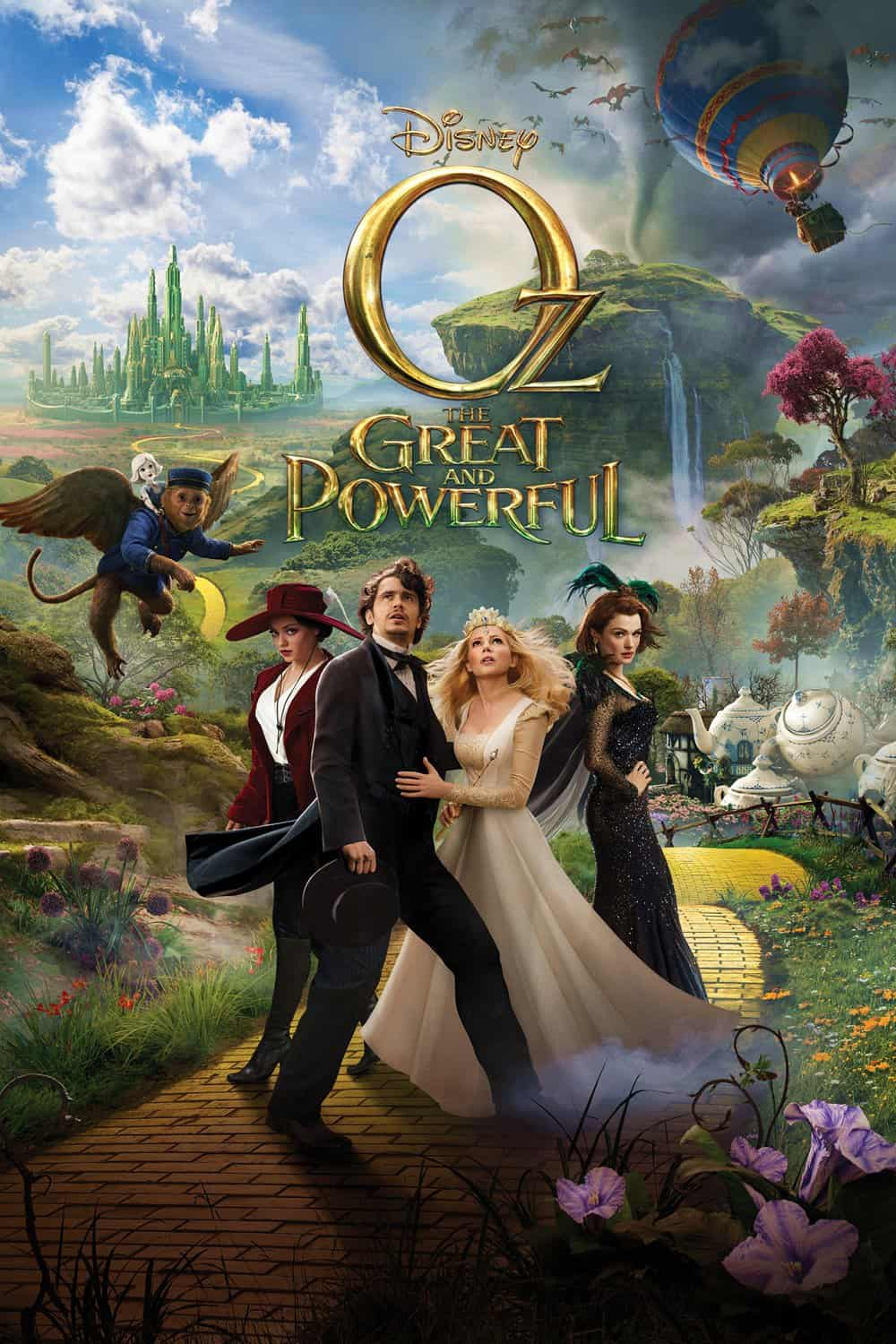 Oz the Great and Powerful, 2013