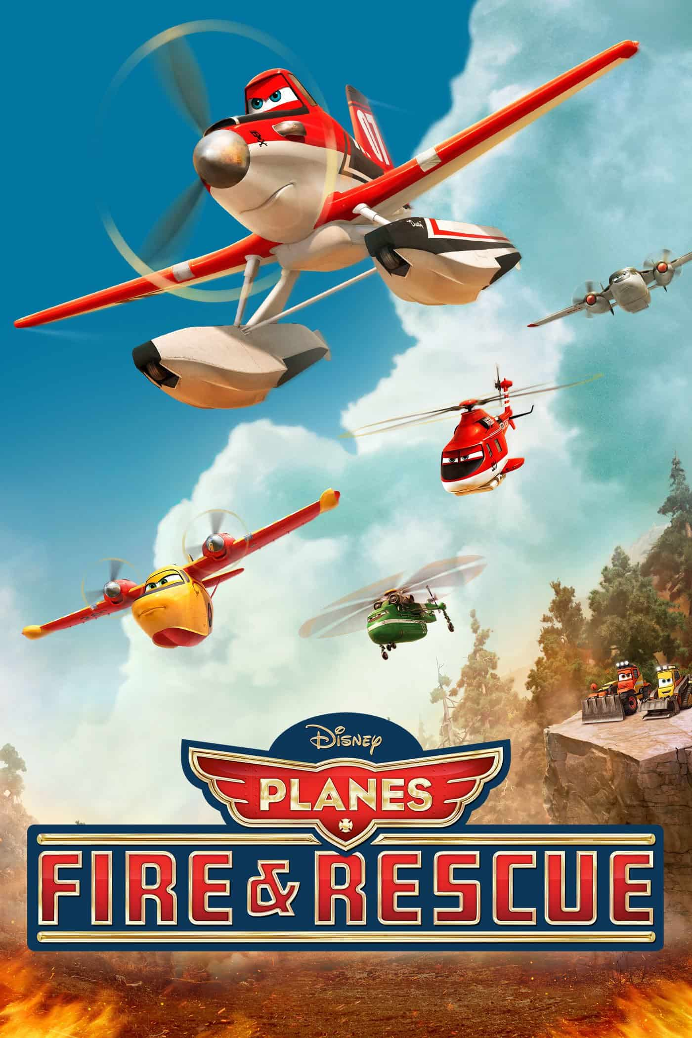 Planes: Fire and Rescue, 2014