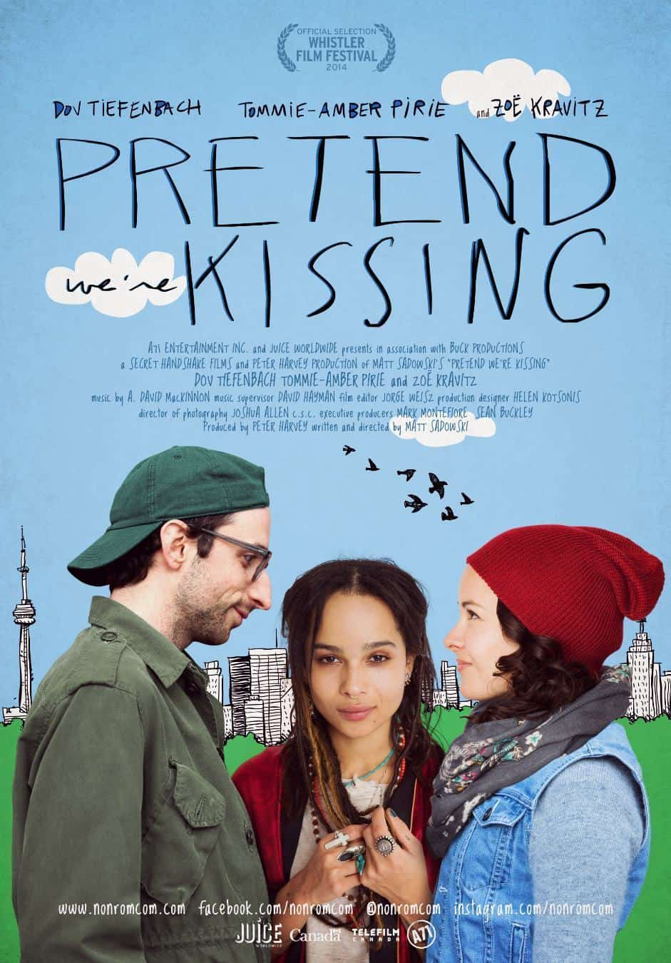 Pretend We're Kissing, 2014
