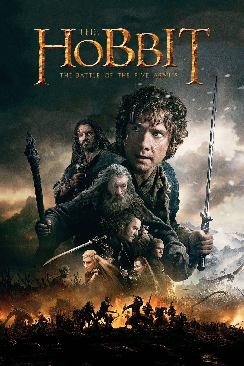 The Hobbit: The Battle of the Five Armies, 2014