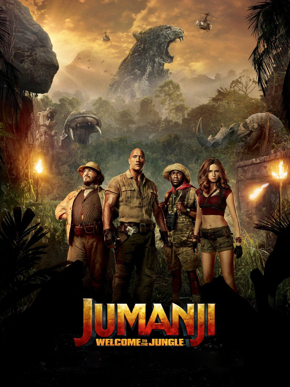 Jumanji: Welcome to the Jungle, 2017