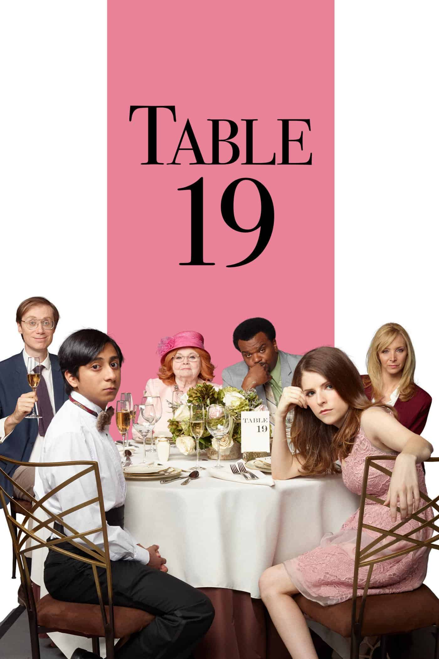 Table 19, 2017