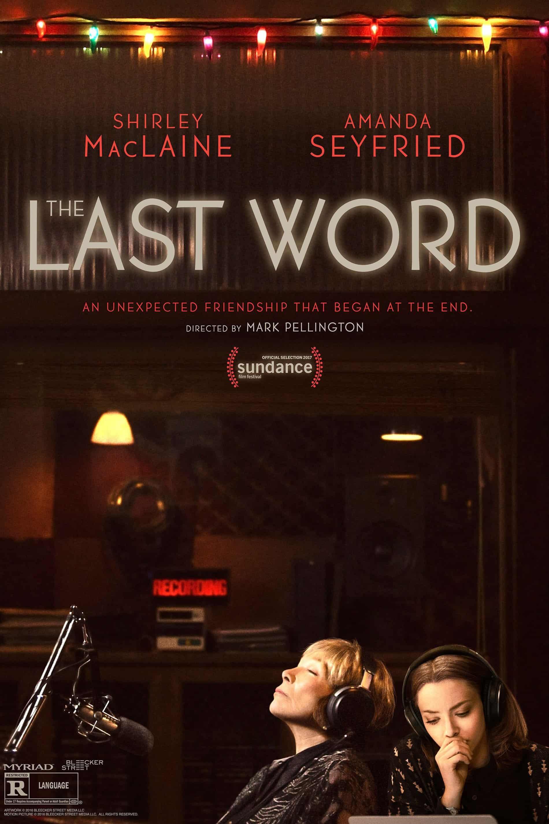 The Last Word, 2017